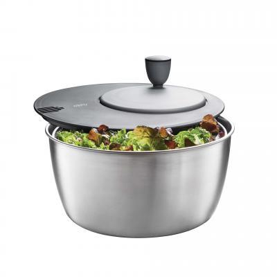 Gefu Rotare Salad Spinner 3L Stainless Steel