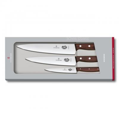 Victorinox Rosewood Starter Set 3pcs | 12cm, 19cm, 22cm