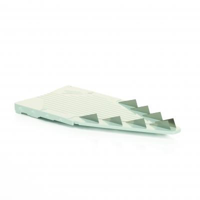 Borner Blade Insert 4.5MM | White Stainless Steel