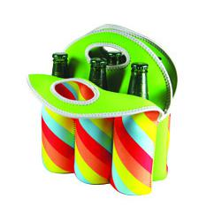 Avanti Six Pack Bottle Tote | Retro Stripe