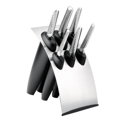 GLOBAL Millennium Cutlery Knife Block Set - 7 Pcs