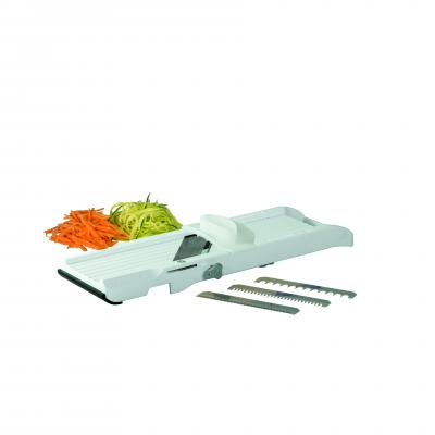 Benriner Vegetable Slicer 64mm White New Interchangeable Blades