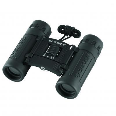 Barska 8x21 Lucid View Black Compact Binoculars