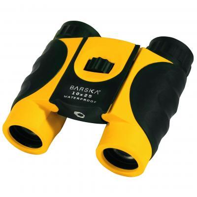 Barska 10x25 Yellow Colorado  Waterproof Binoculars