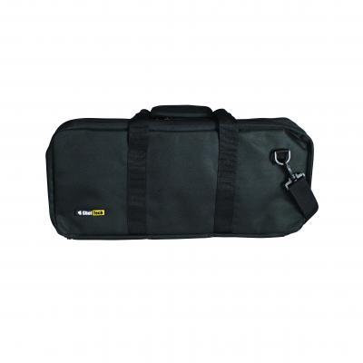 Cheftech 18pc Pocket Chef Knife Knives Roll Hand Shoulder Bag Case w Strap Black