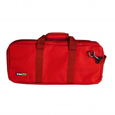 Cheftech 18pc Pocket Chef Knife Knives Roll Hand Shoulder Bag Case w Strap | Red