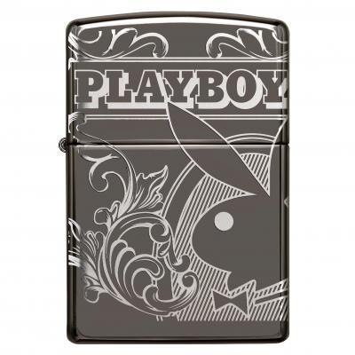 Zippo Black Ice Playboy Lighter