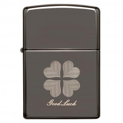 Zippo Black Ice Good Luck Lighter
