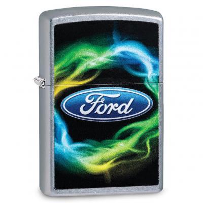 Zippo Street Chrome Ford Northern Lights Lighter