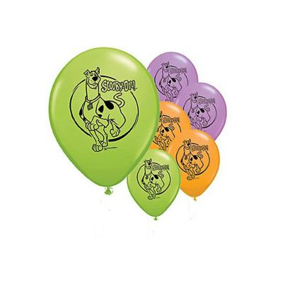 Scooby Doo Latex Balloons Birthday Party Balloons Decorations 6 Pack