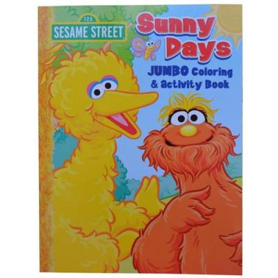 Kids Colouring Book Sesame Street Activity Book New Licensed 96 Pages