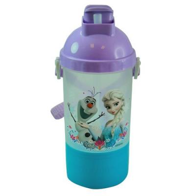 Disney Frozen Drink Bottle with Snack Container New Licensed