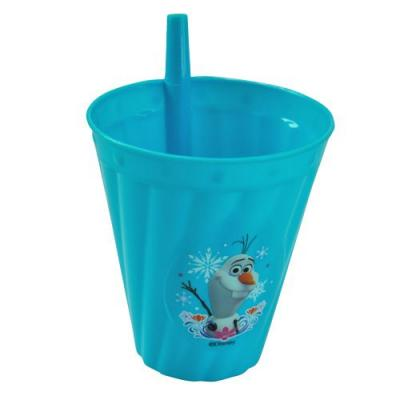 Disney Frozen Sipper Cup with in-built Straw Frozen Oalf New Licensed