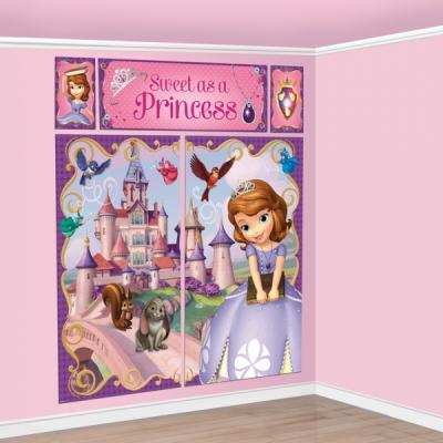 Sofia the First Scene Setter Birthday Party Decorations