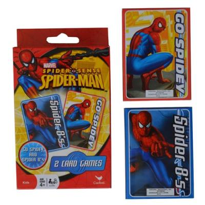 Spiderman Card Games Boys Spider-Man Go Fish Crazy Eights Cards New Licensed