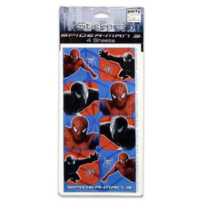 Spiderman Stickers - 32 Pack