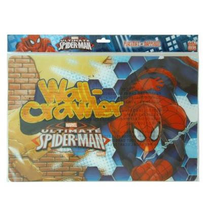 Spiderman Placemat Boys Super hero Dinner Placemat New Licensed