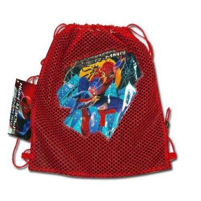 Spiderman Sling Bag Boys drawstring backpack New Licensed Red