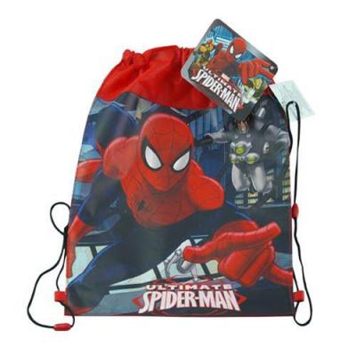 Spiderman Sling Bag Drawstring Backpack New Licensed