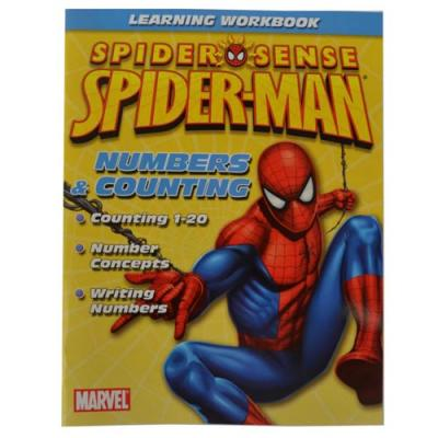 Spider-Man Learning Workbook Spiderman Numbers & Counting New Licensed