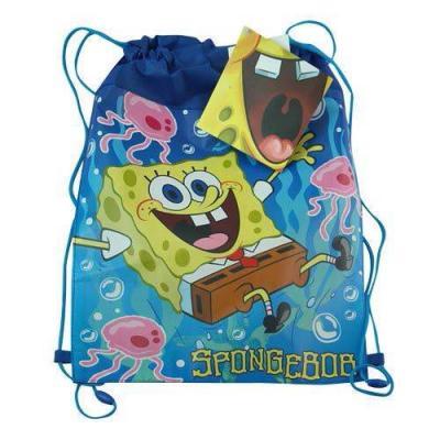 Spongebob Squarepants Sling Bag Drawstring Backpack New Licensed