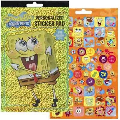 SpongeBob Squarepants Sticker Pad 270 Stickers New Licensed