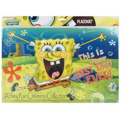 SpongeBob Squarepants Placemat New PBA Free Licensed