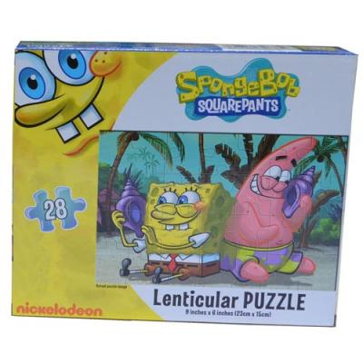 Spongebob Squarepants  Jigsaw Puzzle 3D design 28 Piece New Licensed