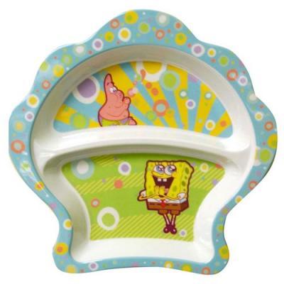 SpongeBob Squarepants Dinner Plate Kids Melamine Plate New Licensed