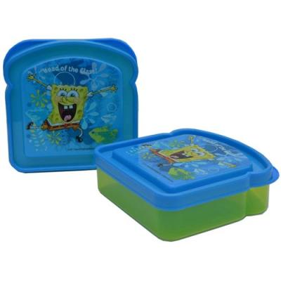 Spongebob Squarepants Sandwich Container School Lunch Container New Licensed