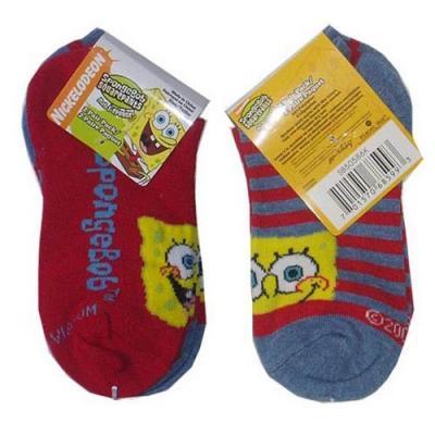 Spongebob Squarepants Ankle Socks 2 Pack 6-8