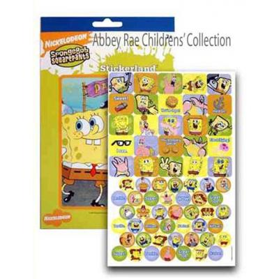 Kids Stickers Spongebob Squarepants Patrick Star Sticker Pad New 4 Pages Licensed