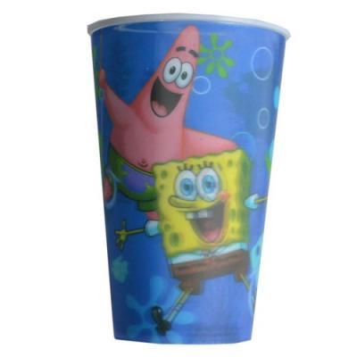 Spongebob Squarepants Large Cup 3D design Plastic Cup New Licensed BPA free