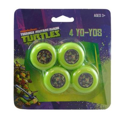 Teenage Mutant Ninja Turtles Yo-Yo's 4 Pack