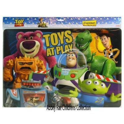 Disney Toy Story Placemat New PBA FREE Licensed