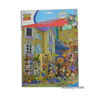 Disney Toy Story Sticker Scene Removable Stickers New Licensed
