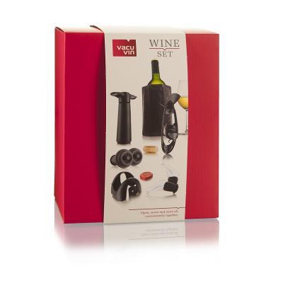 Vacu-vin - Wine Set Experienced  (Active Cooler, Vacuum Pump, Wine Stopper, Wine Server, Foil Cutter, Corkscrew Twister)
