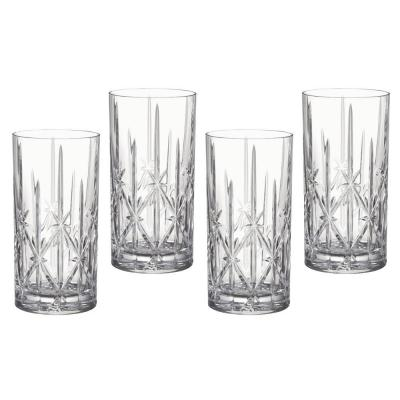 Marquis by Waterford Sparkle Crystalline Hi Ball | Set of 4 Glasses