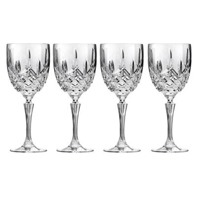 Marquis by Waterford Markham Crystalline Wine Goblet 384ml | Set of 4 Glasses