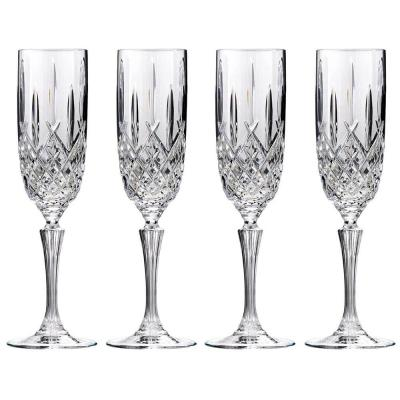 Marquis by Waterford Markham Crystalline Champagne Flute 266ml | Set of 4 Glass