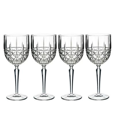 Marquis by Waterford Brady Crystalline Wine Goblet 443ml | Set of 4 Glasses