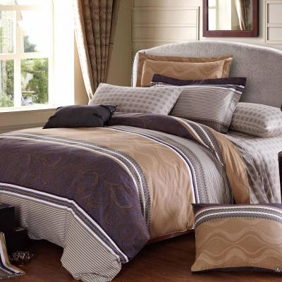 Boutique Collections A003 5pcs Bed Sheets and Quilt Cover Set 100% Combed Cotton