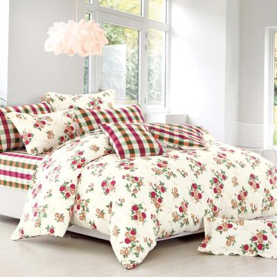 Boutique Collections A005 5pcs Bed Sheets and Quilt Cover Set 100% Combed Cotton