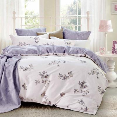 Boutique Collections Premium Range B001 5pcs Bed Sheets and Quilt Cover Set 400TC 100% Combed Cotton