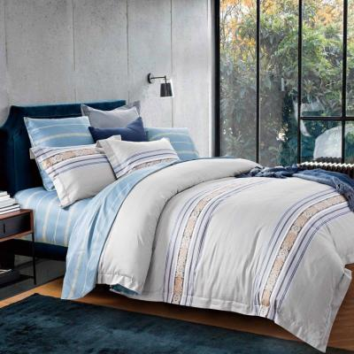 Boutique Collections Premium Range B005 5pcs Bed Sheets and Quilt Cover Set 400TC 100% Combed Cotton