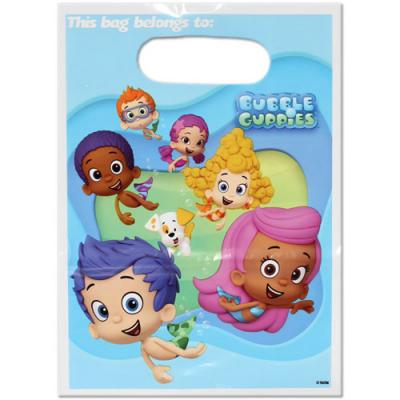 Bubble Guppies Party Favour Bags Loot Bags Birthday Lolly Bags