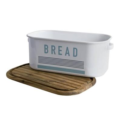 Jamie Oliver - Vintage Bread Bin with Chopping Board