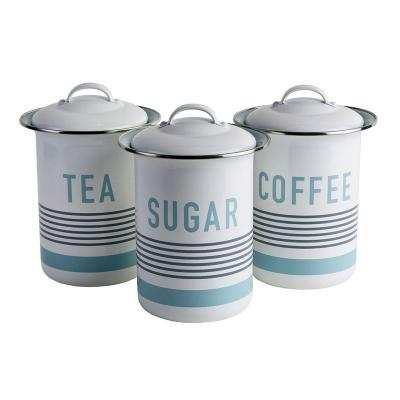 Jamie Oliver - Vintage 3pc Storage Set (Tea,Coffee,Sugar)