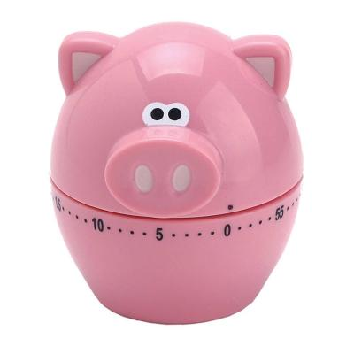 MSC Oink Oink Pig Shaped 60 Minute Mechanical Timer | Great for Kids