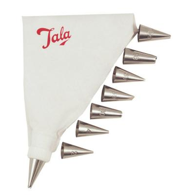 Tala Retro Icing Bag with 8 Nozzles | Dishwasher Safe